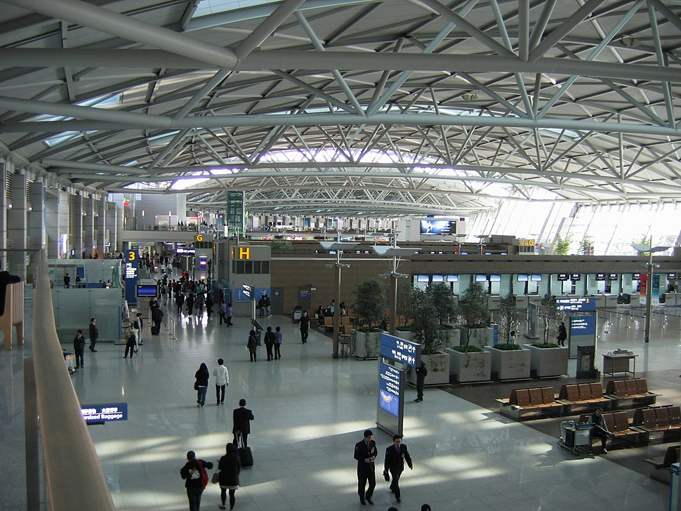 Incheon International Airport departures