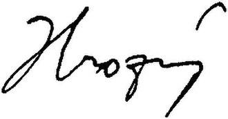Bedřich Hrozný - Image: Index UK – Bedřich Hrozný signature