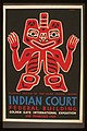 Indian court, Federal Building, Golden Gate International Exposition, San Francisco, 1939 LCCN98518795.jpg