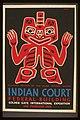 Indian court, Federal Building, Golden Gate International Exposition, San Francisco, 1939 LCCN98518795.jpg