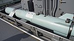 Inert ASROC missile on JS Shimakaze(DDG-172) torpedo section left rear view at JMSDF Hanshin base December 10, 2017.jpg