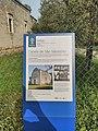 Information plaque about Capela de São Sebastião in March 2020.jpg
