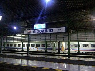 Sidoarjo Regency - Sidoarjo Train Station