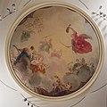 Interieur, eerste verdieping, achterzijde (Zaal), plafondschildering, Apollo tronend op de wolken met Minerva en de negen muzen - Amsterdam - 20394802 - RCE.jpg