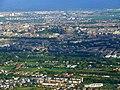 Inverleith and Edinburgh Castle from the air (geograph 2422608).jpg