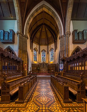Inverness Cathedral - Image: Inverness Cathedral Choir, Scotland, UK Diliff