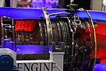 Ishikawajima-Harima F3-IHI-30B turbofan engine(cutaway model) at Niconico chokaigi April 28, 2018 09.jpg