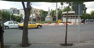 Salmas City in West Azerbaijan, Iran