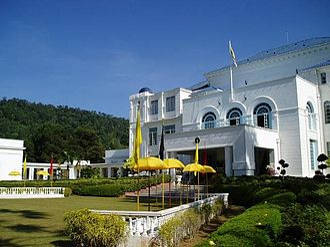 Seri Menanti - The current residence of the Yang Di-Pertuan Besar of Negeri Sembilan Yamtuan Besar, the Istana Besar Seri Menanti