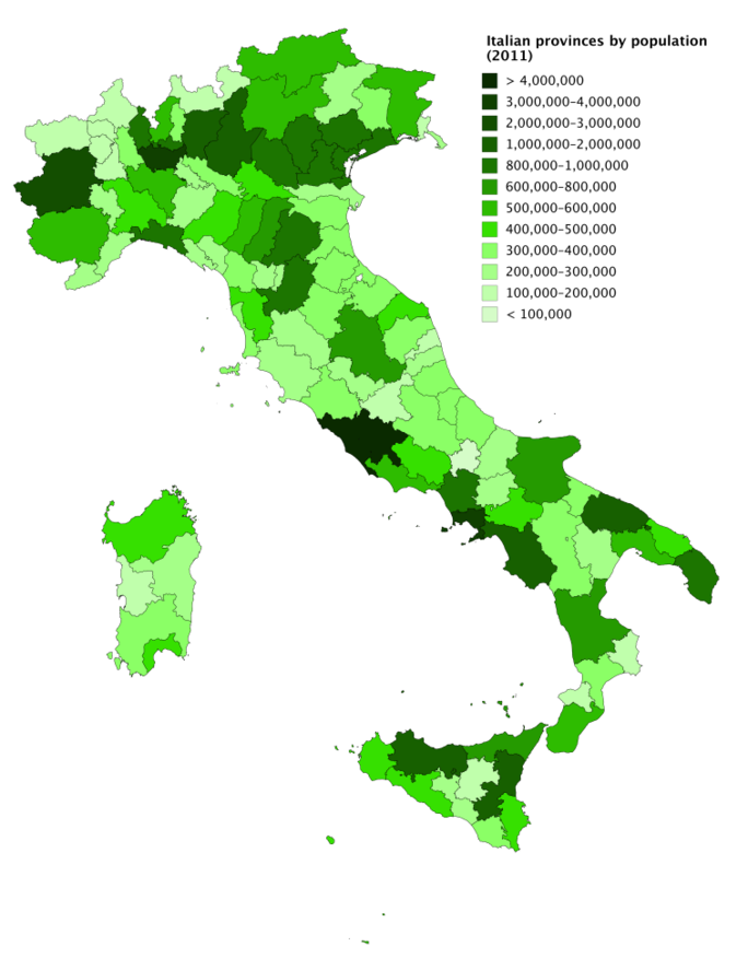 Provinces of Italy - Wikiwand