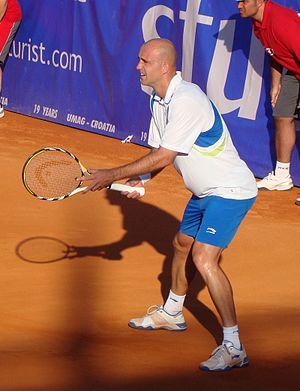Sportske novosti awards - Tennis player Ivan Ljubičić, who won the award in 2005 and 2006