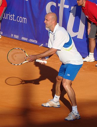 Sportske novosti awards - Tennis player Ivan Ljubičić, who won the award in 2005 and 2006