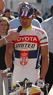 Ivan Stević Serbian cyclist