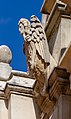 Ivey Hall - sculpture above the entrance, Lincoln University, New Zealand 30.jpg