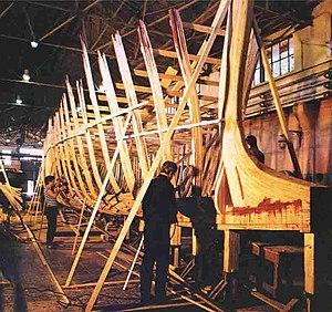Ivlia (ship) - Construction of the ship