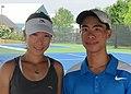JC with Zheng Jie - closeup (6206120318).jpg
