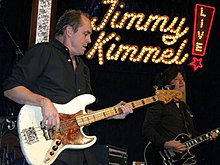 Jimmy Earl on Jimmy Kimmel Live! Photo courtesy of Don Barris