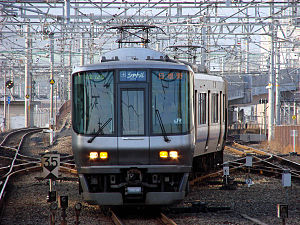 Kansai Airport Line - Image: JRW series 223 Kansai Airport