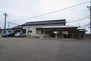 Ichiburi Station Railway station in Itoigawa, Niigata Prefecture, Japan