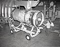 JT-8D REFAN ENGINE BEING REMOVED FROM PROPULSION SYSTEMS LABORATORY PSL TANK 4 - NARA - 17425564.jpg