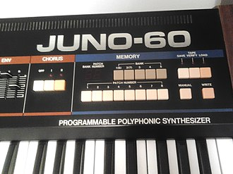 Roland Juno-60 - The JUNO-60's added memory section