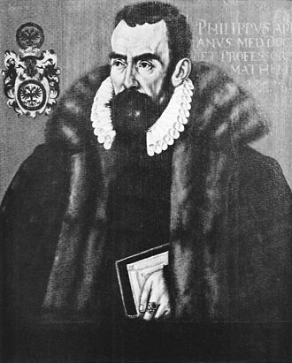 Philipp Apian - Philipp Apian (painting by Hans Ulrich Alt, 1590)