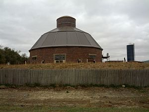 National Register of Historic Places listings in Lake County, South Dakota - Image: J Whitney Goff Round Barn