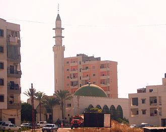 Lebanese Shia Muslims - Alawite El-Zahra Mosque in Jabal Mohsen, Lebanon