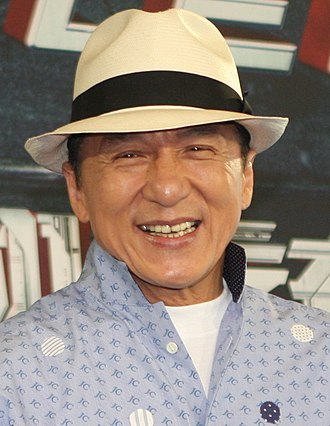 Jackie Chan - Chan at Bleeding Steel press conference, Sydney Opera House, July 2016