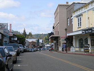 Jackson, California - Main Street