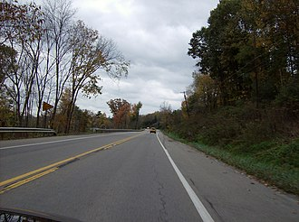 Jackson Township, Butler County, Pennsylvania - Along Route 68 in Jackson Township