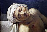 Jacques-louis david, la morte di marat, 1793, 03.jpg