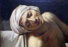 La morte di marat wikipedia for Vasca da bagno per lui e per lei