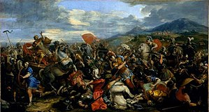 Jacques Courtois - Alexander the Great, victorious over Darius