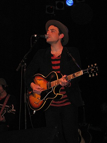 Jakob Dylan of the Wallflowers.
