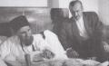 Jalaluddin Homaei visiting Rahim Arbab.png