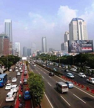 Jalan Jenderal Gatot Subroto - Image: Jalan Gatot Subroto 5