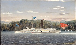 The Hudson River Steamboat \