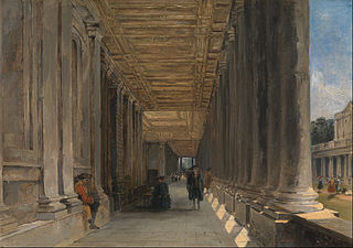 The Colonnade of Queen Mary's House, Greenwich