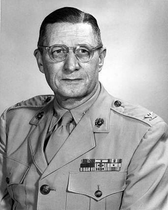 James J. Keating - James J. Keating as colonel, USMC