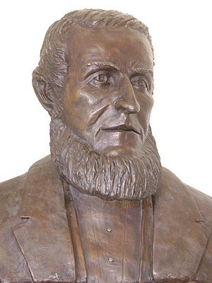 James Lick - James Lick's bust at the Lick Observatory.