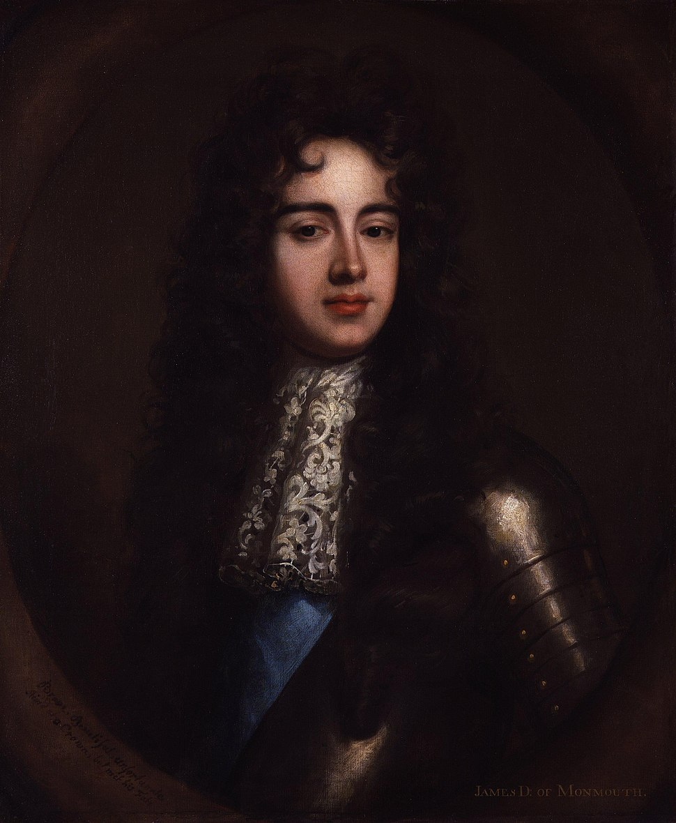 James Scott, Duke of Monmouth and Buccleuch by William Wissing