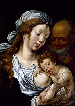 Jan Gossart - The Holy Family - Google Art Project