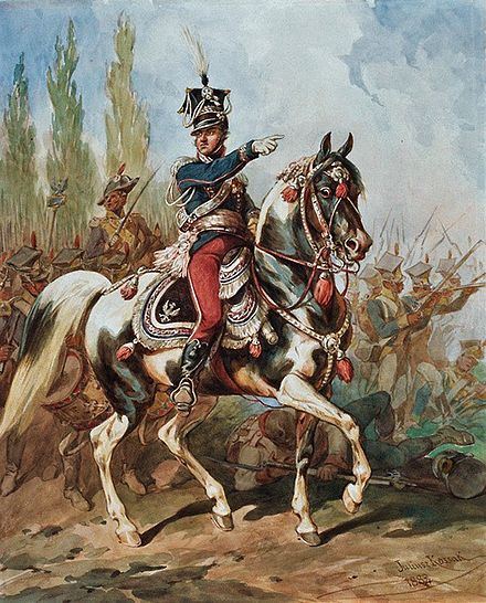 Jan Henryk Dabrowski, the most famous commander of the Polish Legions Jan Henryk Dabrowski 2.jpg