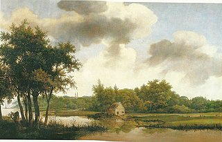 River Landscape with Castle Heemstede beyond