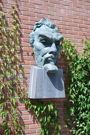 Bergen School (art) - Portrait of Jan Toorop, by John Rädecker, Museum Kranenburgh, Bergen (NH)