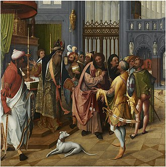 Jan de Beer (painter) - Joseph and the Suitors