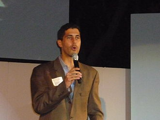 Jarrett Barrios - Barrios addressing GLAAD, 2009