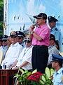 Jason Hu, Mayor of Taichung City Speech in Reviewing Stand 20140719.jpg