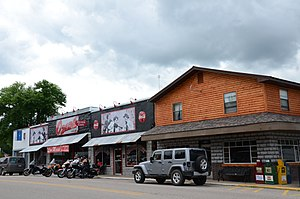 National Register of Historic Places listings in Newton County, Arkansas - Image: Jasper Commercial Historic District, 2 of 2